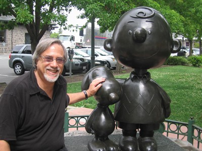 Larry Grobel & Snoopy