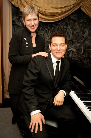Michael Feinstein Amber Edwards