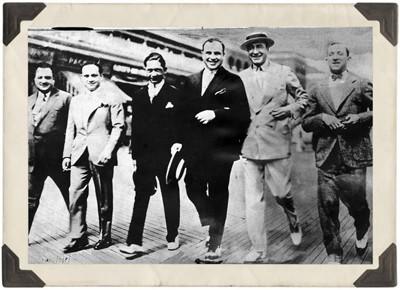 Al Capone & Nucky Thompson