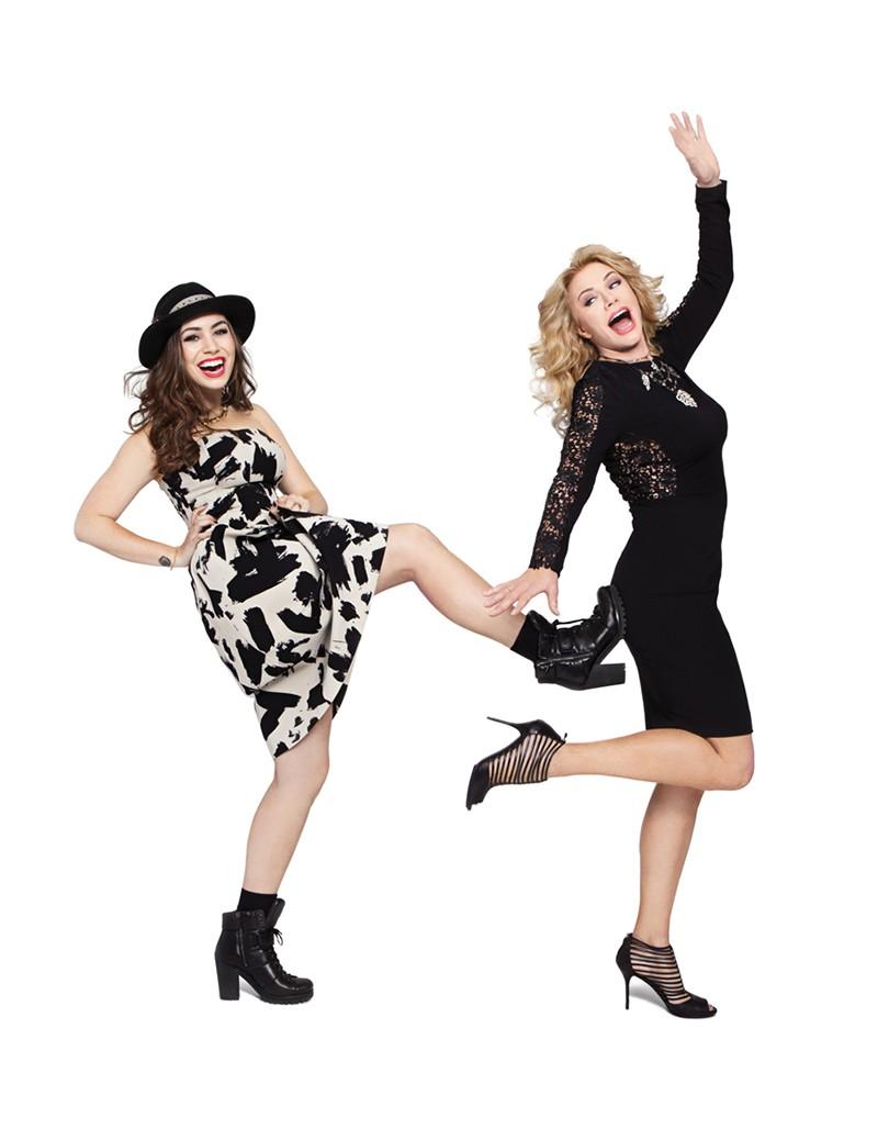 Shannon Tweed-Simmons & Sophie Tweed-Simmons